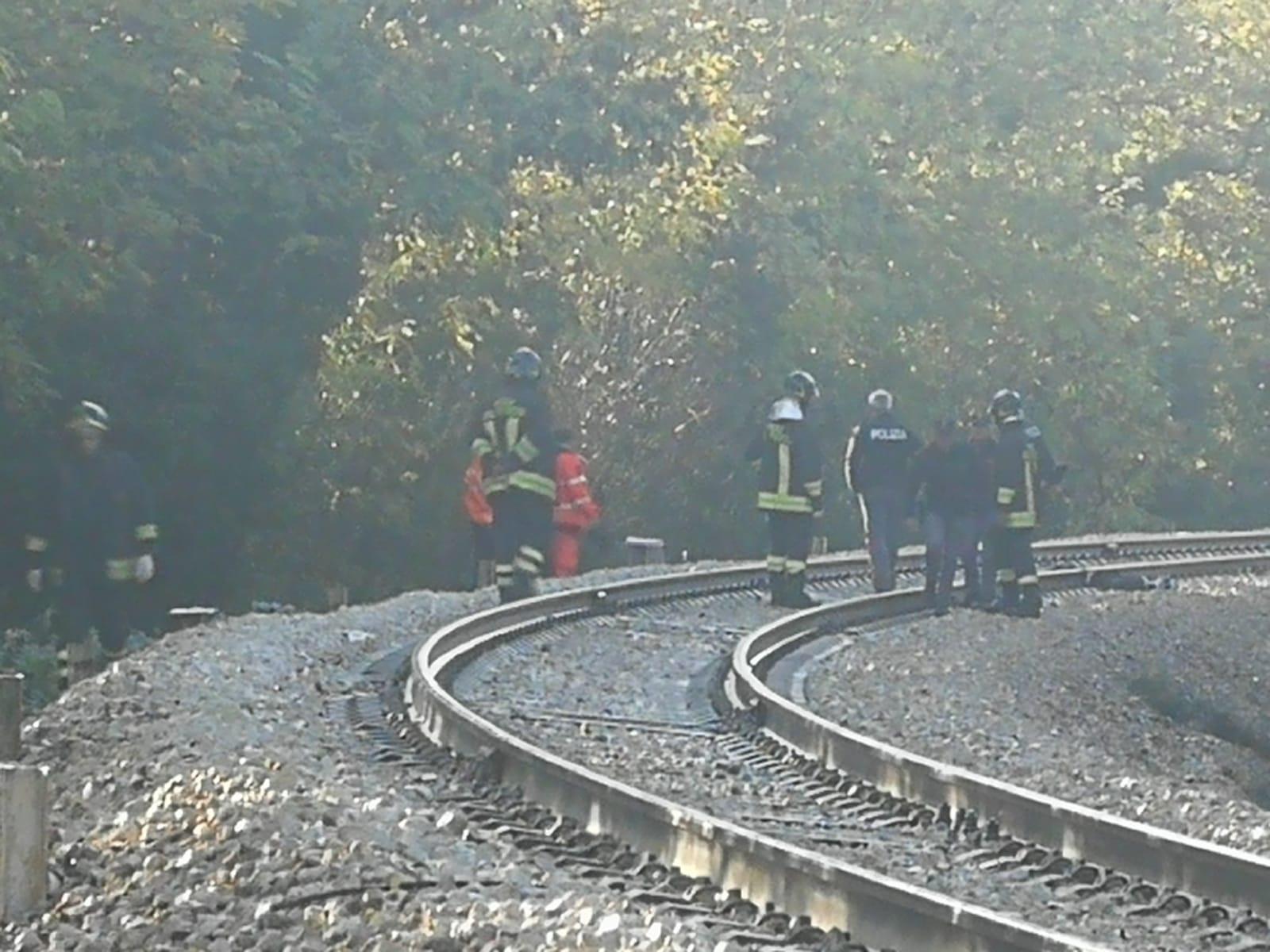 Macerata: un uomo travolto dal treno a pochi metri dalla