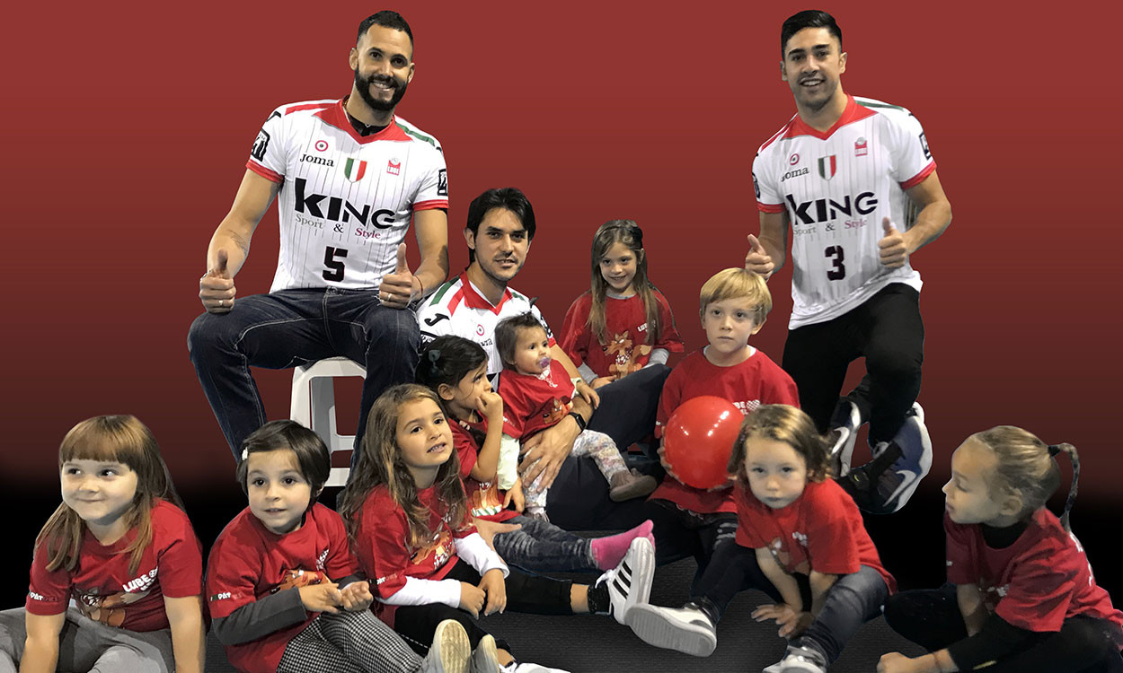 Lube Volley Calendario.Lube Volley Sostiene L Iniziativa Lnc 4 Children Ecco