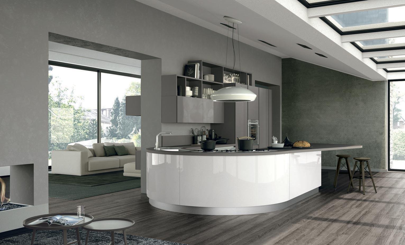 Il design e la qualità del marchio Cucine Lube in vetrina alla Fiera ...