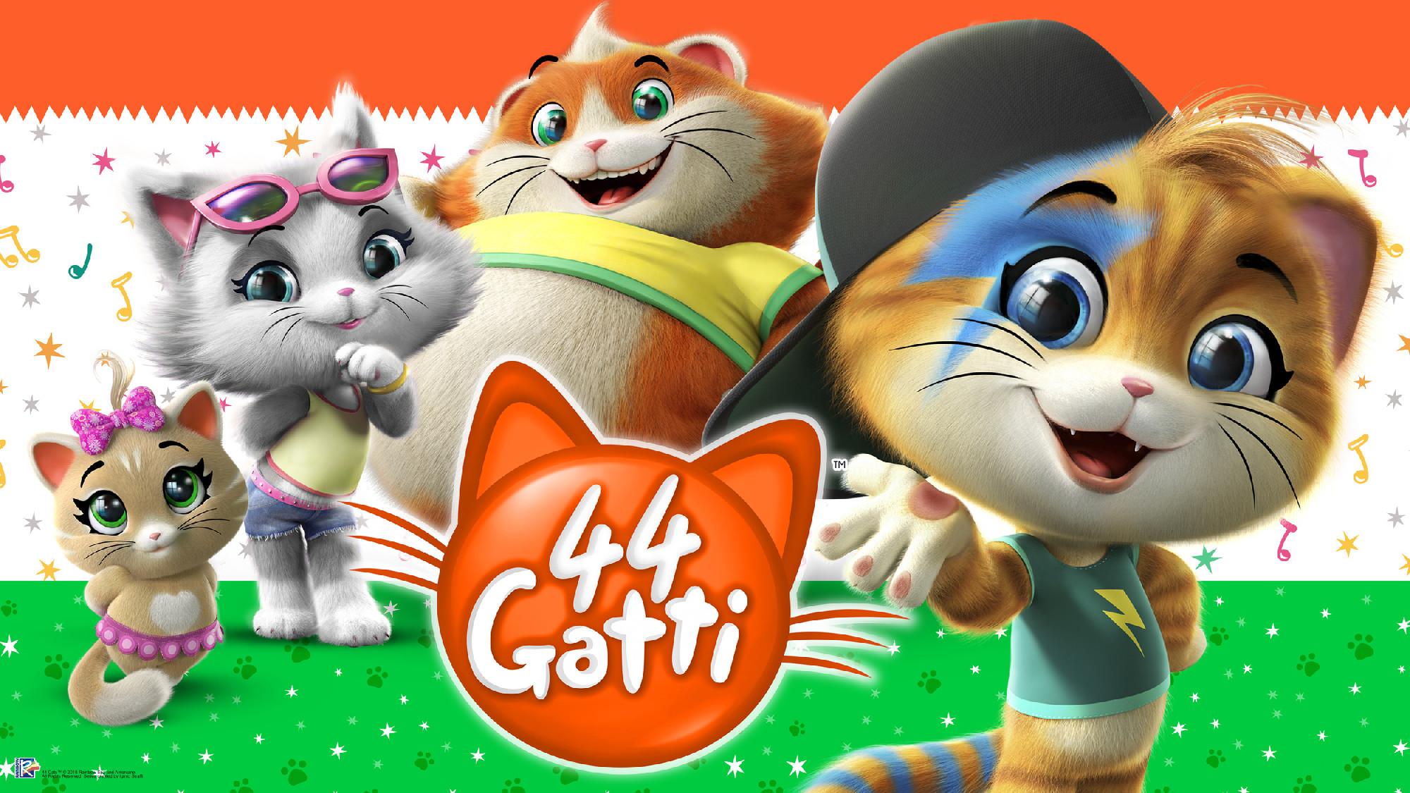 """Presentato """" gatti il nuovo cartone animato di rainbow"""
