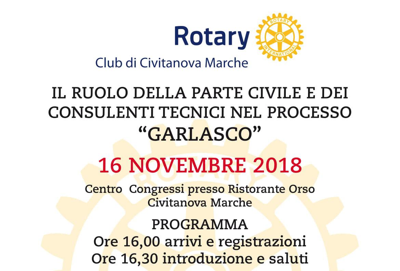 Civitanova Marche, Rotary Club: venerdì 16 novembre convegno sul delitto di  Garlasco - Picchio News - Il giornale tra la gente per la gente