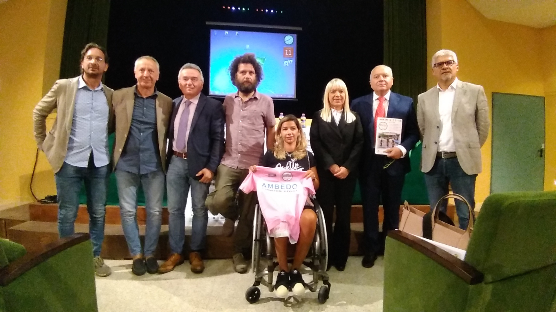 Giro delle Marche in Rosa, al Feronia la presentazione