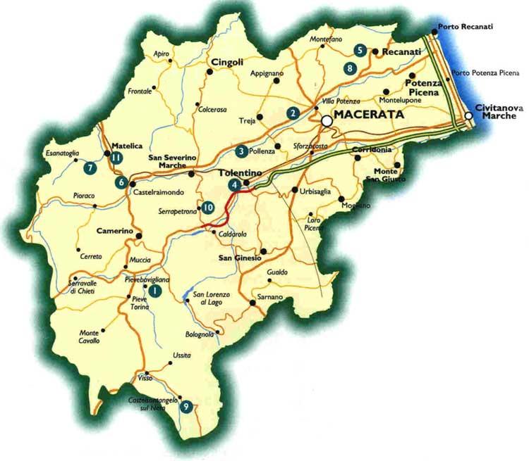 Cartina Geografica Provincia Di Pesaro Urbino.Fusione Dei Comuni Il Pd Maceratese La Nostra Provincia E Indietro Picchio News Il Giornale Tra La Gente Per La Gente