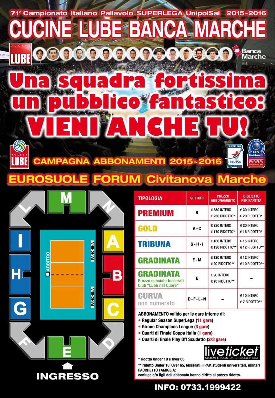 Abbonamenti Lube: botteghino aperto anche oggi - Picchio News - Il ...