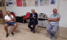 """Macerata, tappa a Fontescodella poi alla """"Salvadei"""" di Villa Potenza: Parcaroli continua il tour della città (VIDEO e FOTO)"""
