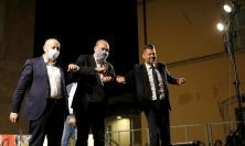 """""""C'è in gioco il futuro, lottiamo fino alla fine"""": Zingaretti spinge il Pd verso la rimonta da Macerata (FOTO)"""