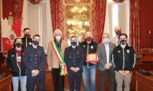 Macerata, la Virtus Pasqualetti ricevuta in Comune dopo la vittoria del tricolore