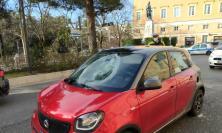 Macerata, uomo investito in Viale Puccinotti: soccorso in eliambulanza (FOTO)