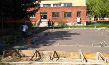"""Terremoto: avanti i lavori per il laboratorio emergenziale per macchine utensili I.T.T.S. """"Divini"""" a San Severino"""