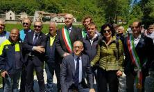 Visso, inaugurata la nuova stalla donata dagli Alpini