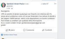 """Su Facebook spunta il """"Gentiloni fake"""" che presta soldi"""