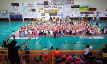 Volley Macerata, si conclude con una bellissima festa il Progetto Scuola della Lube - FOTO