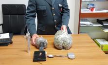 Apre la porta e trova la finanza ad aspettarlo: arrestato 26enne con mezzo chilo di marijuana