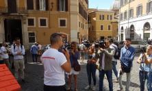 """Sisma, sit-in a Montecitorio: """"Ci aspettavamo più coraggio. Il Governo passi ai fatti"""" - FOTO"""