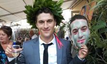 Il Chiesanuova festeggia la laurea del suo capitano: Marco De Santis è dottore in Economia Bancaria e Mercati