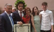 Tolentino, brillante laurea in Ingegneria Edile per Francesco Mancini