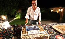 Party a Villa Viola: Paniccia festeggia con gli amici le imprese di Altair 3 - FOTO