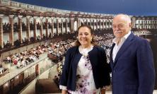 Il nuovo prefetto di Macerata Rolli incontra il presidente della provincia Pettinari