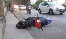 Montecosaro, incidente in motorino per un 17: trasportato all'ospedale