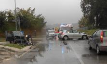 Granali, scontro tra auto: due feriti
