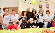 Treia festeggia i nonni della casa di riposo e la centenaria dell'anno