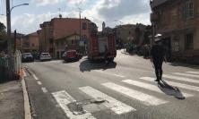 Monte San Giusto, frontale tra due auto: un ferito trasportato all'ospedale di Ancona