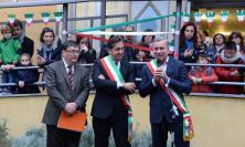 A Monza la cerimonia di inaugurazione della targa dedicata al ginesino  Raffaele Merelli