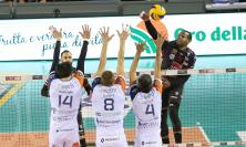 Volley, la Lube Civitanova batte Siena in quattro set e torna seconda