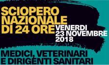 Sanità, Medici e Dirigenti scendono in piazza: sit-in di fronte alla Regione Marche