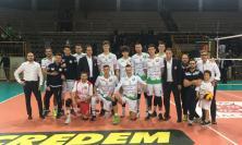 Volley Macerata, la Menghi Shoes a un passo dalla vittoria contro la capolista Brescia