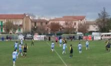 Calcio, Trodica e Muccia impattano sull' 1-1