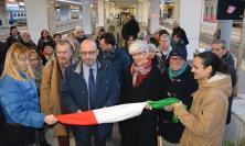 """Inaugurato il """"treno della memoria"""" alla stazione di Ancona"""