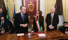 Potenza Picena, il presidente della Lega B Balata incontra l'AmaDown