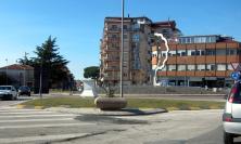Civitanova, la statua di Maria Ausiliatrice tra breve tornerà sulla rotatoria