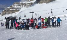 """Settimana di sport sulla neve a Madonna di Campiglio per gli studenti dell'ITE """"A. Gentili"""" (FOTO)"""