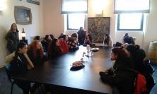 """Recanati, la 3^ F del Linguistico partecipa al concorso di idee """"Piazza Affari Tedesco"""" (FOTO)"""