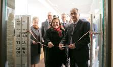 Unimc, nuova luce  per la Biblioteca Giuridica (FOTO)
