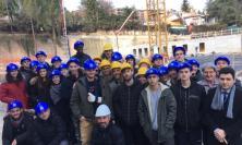 """Macerata, """"pubblico"""" d'eccezione per i cantieri della Nuova Villalba (FOTO)"""