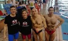 Centro Nuoto Macerata:  ben 11 le medaglie ottenute ai Campionati Regionali riservati ai Master
