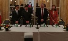 Regione Marche, firmato a Roma il memorandum d'intesa con il tour operator di Stato cinese