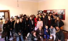 Macerata, gli studenti del Linguistico Leopardi e del Lycée Bellevue in visita alla redazione di Picchio News