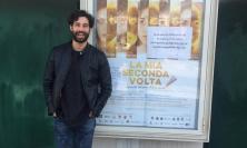 """Simone Riccioni al cinema Rossini di Civitanova per presentare """"La mia seconda volta"""""""