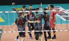 Volley SuperLega, la Lube suona la nona sinfonia: secco 3-0 al Vibo e terzo posto