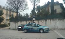 L'auto di Google Street View in giro per Macerata per l'aggiornamento delle immagini della città