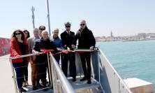 Civitanova, inaugurata la nuova piazzola per la pesca sportiva sul Molo est