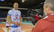 Volley Potentino, Paoletti e Lavanga parlano dopo la vittoria nel derby di Gara 1