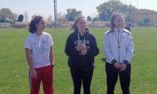 """Macerata, Atletica leggera su Pista: medaglia d'oro per la squadra femminile del Liceo""""Leopardi"""" (FOTO)"""