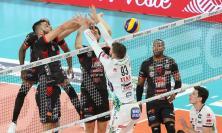 Lube Volley, Semifinale Scudetto: Gara 3 va a Trento in volata. Giovedì Gara 4 all'Eurosuole Forum (FOTO)