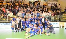 Quarti di Finale Play-Off A2, Potenza Picena in Semifinale: Tie Break da sogno nel derby (FOTO)