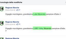 La Regione Marche riporta la Lube a Macerata